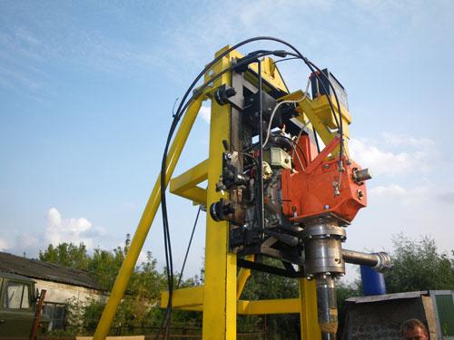 Дизельная малогабаритная буровая установка УМГБ 3 (Diesel)