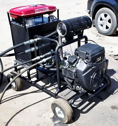 Малогабаритная гидравлическая буровая установка УМГБ-5