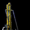 Малогабаритная гидравлическая буровая установка
